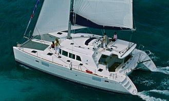 Charter a Gorgeous 9 Person Lagoon 440 Catamaran in Procida, Italy