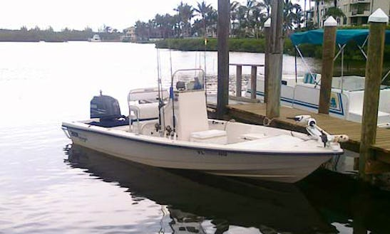 Take Fishing Trip On A18' Maverick Center Console From Naples, Florida