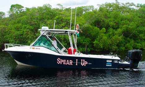 "28' ""Spear 1 Up"" Diving Trips in Naples, Florida"