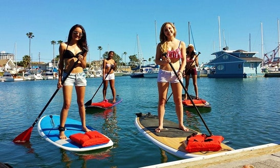 Stand Up Paddleboard In Oceanside