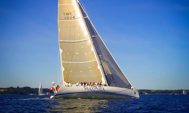 "CJ ""Legend"" Volvo Ocean Racer Yacht Sailing Lessons in Arnis"