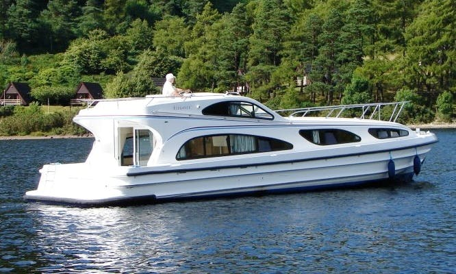 """Leboat Elegance"" Motor Cruiser in Scotland"