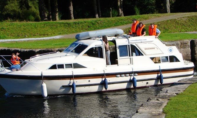 """Braemore"" Motor Cruiser in Scotland"
