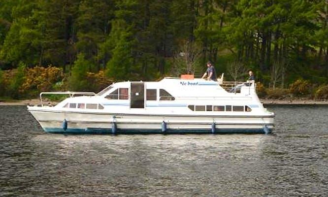 """Leboat Crusader"" Motor Cruiser in Scotland"