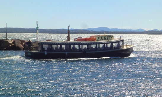 'ferry' Cruising Tour In Nelson Bay