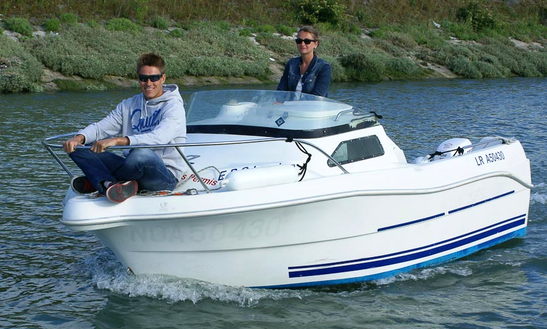 Quicksilver 435 Cabin Cuddy Cabin Rental In La Rochelle, France