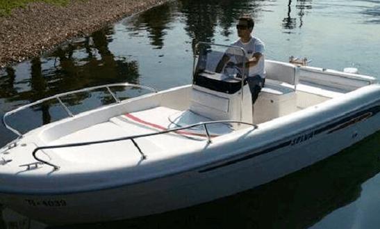 Open D.5.3 Deck Boat Rental In La Rochelle, France