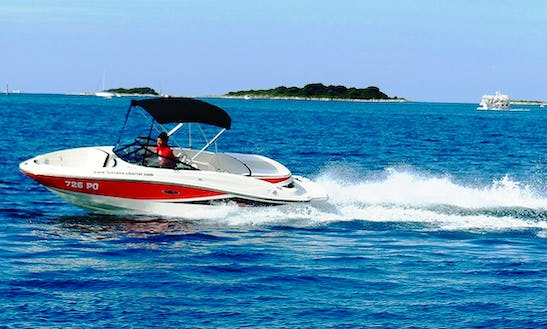 Sea Ray 190 Sport Power Boat Rental In Funtana