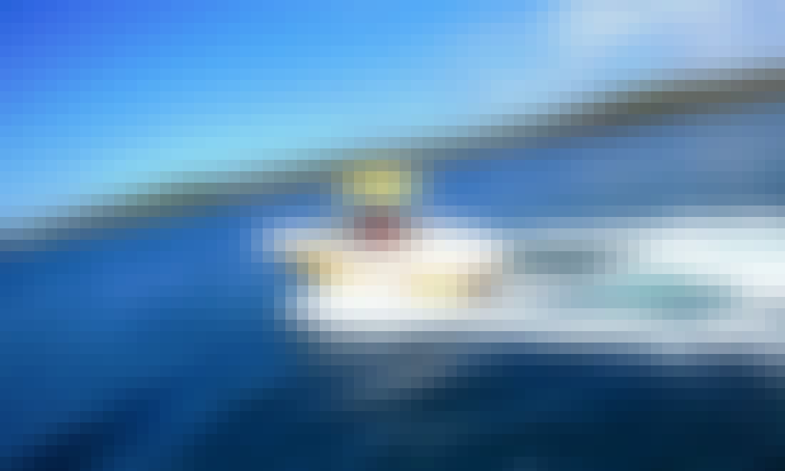 Rinker 192 Captiva Yellow Power Boat rental in Funtana