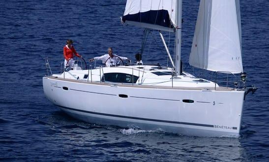 Beneteau Oceanis 43 Cruising Monohull Charter In Catania Sicilia, Italy