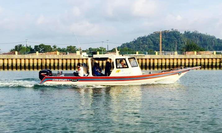 Cuddy Cabin Fishing Charter in Kemaman, Malaysia