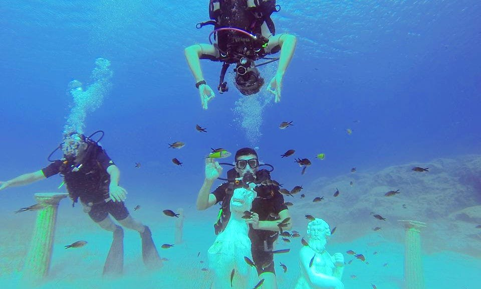 Diving Trip and Coures in Ayia Napa
