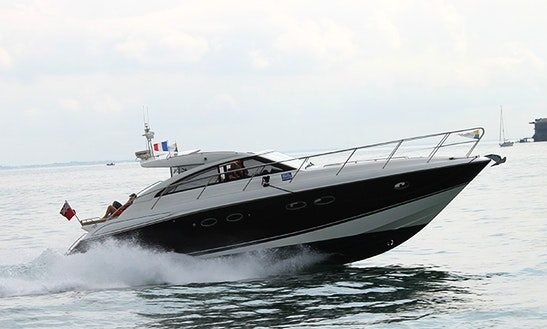 Princess V45 Motor Yacht Charter In Gosport