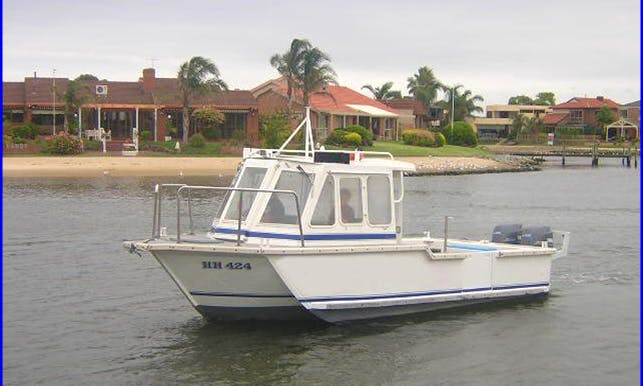"Fishing Trip on 38ft ""Burgen"" Boat in Carrum, Victoria"