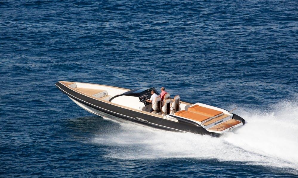 Omega 41 Power Boat Charter Notios Tomeas Athinon