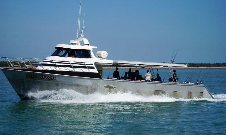 """""""Equinox II"""" fishing Trips in Larrakeyah"""