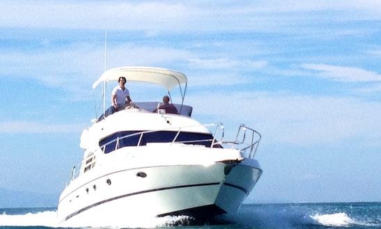 Book This Amazing Cranchi 40 Flybridge Motor Yacht In Dénia, Spain