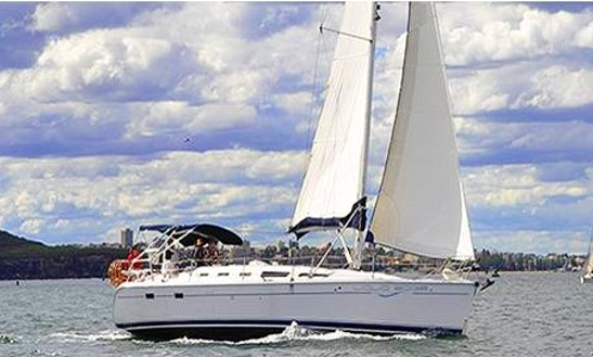 Captained Charter On 38' Cruising Monohull From Sydney