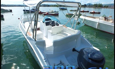 9 Person Motor Boat for Rent with or without a boating license in Veyrier-du-Lac, France