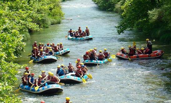Rafting Trips In Evritania, Greece