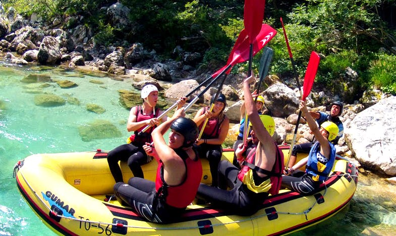 Rafting Tour in Slovenia