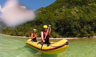 Mini Raft Canoe Tour in Bovec, Slovenia