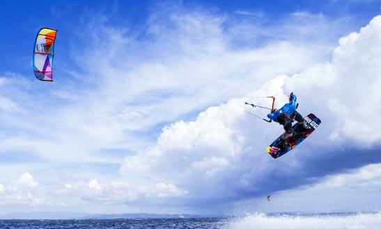 Kitesurfing Lessons In Tambon Pak Nam Pran, Thailand