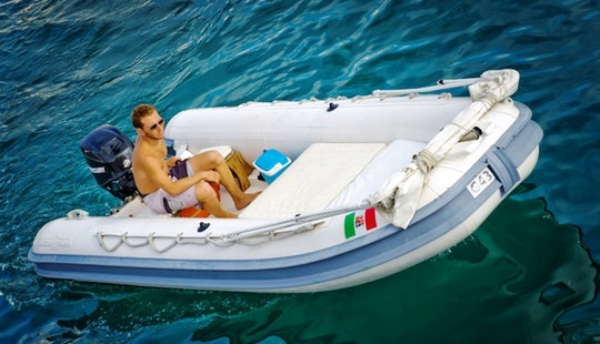 Gommonautica G43 Y15 Rib Rental In Ponza