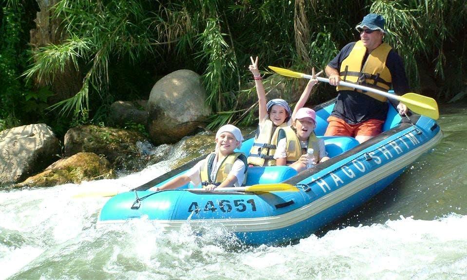 Daily Rafting Trips in Galilee, Israel