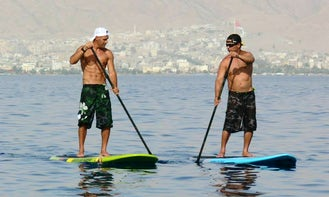 Stand Up Paddle Rental & Courses in Eilat, Israel