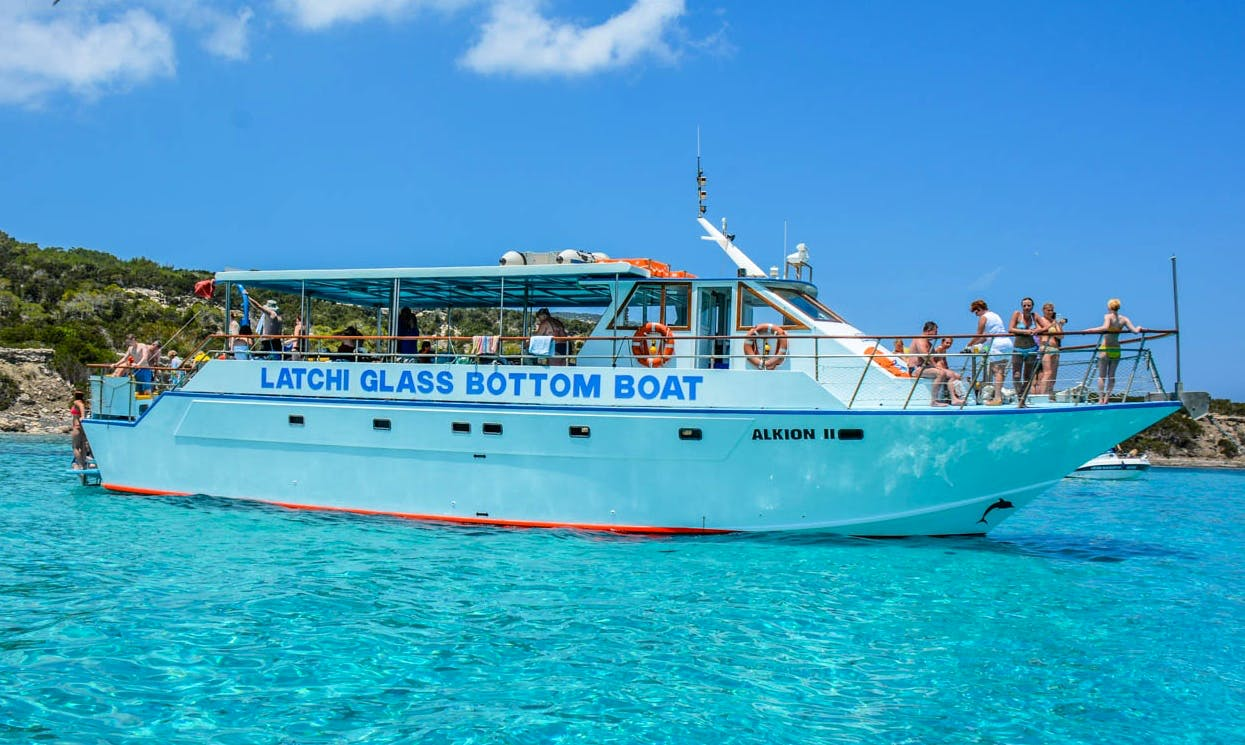 Glass Bottom Boat Cruise in Poli Crysochous, Cyprus