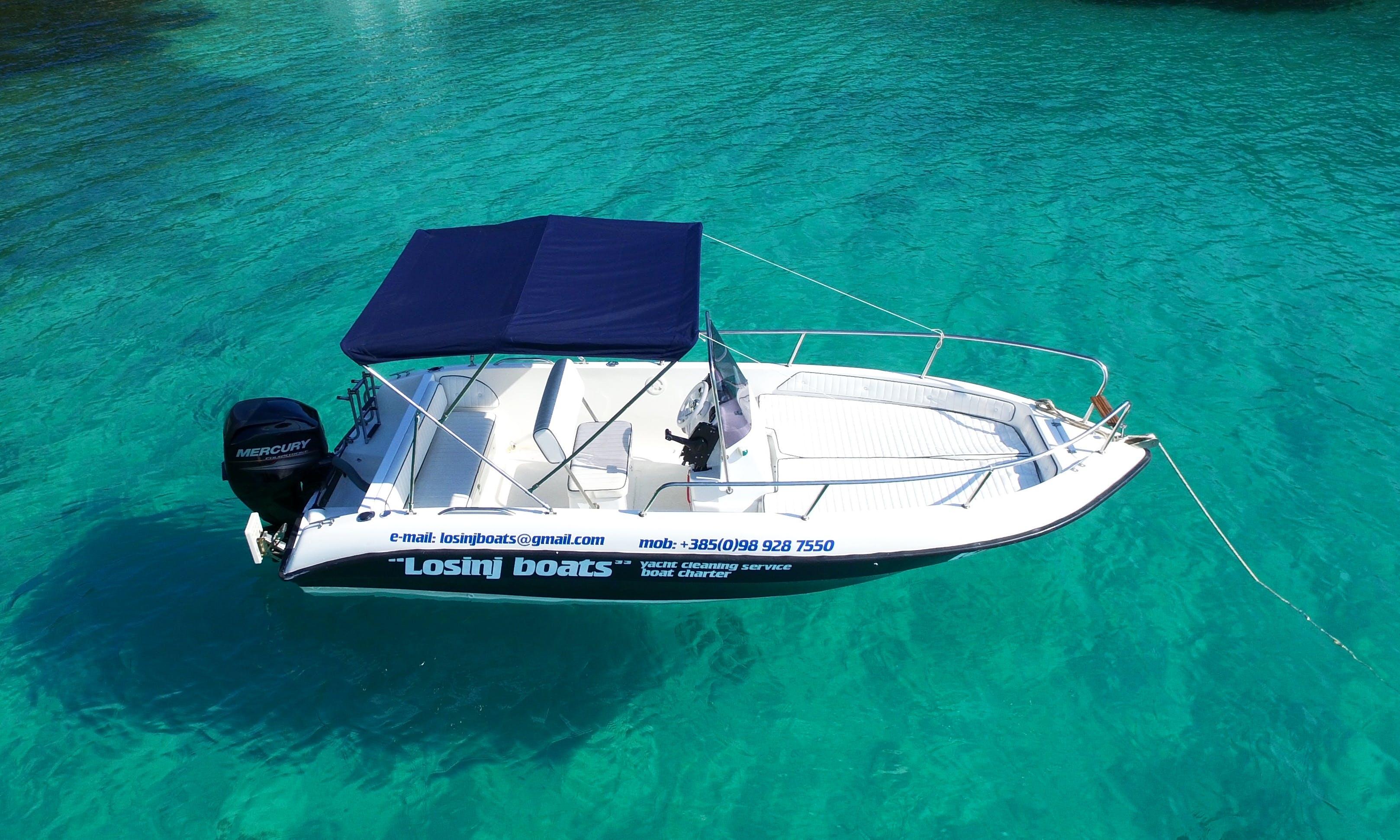 Speed Boat rental in Mali Lošinj, Croatia