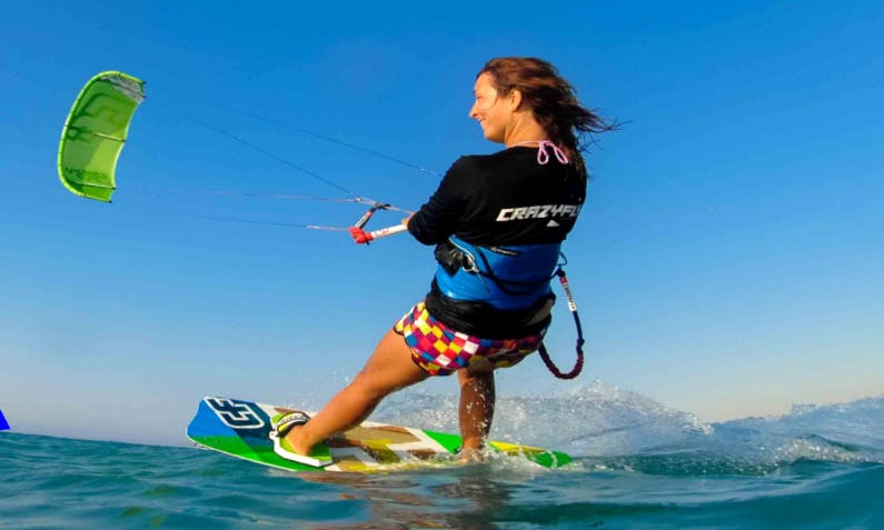 Kiteboarding Lessons on Lake Winnebago