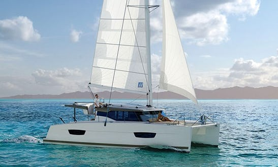 Fountaine Pajot Lucia 40' Cruising Catamaran Charters In Marigot, Saint Martin