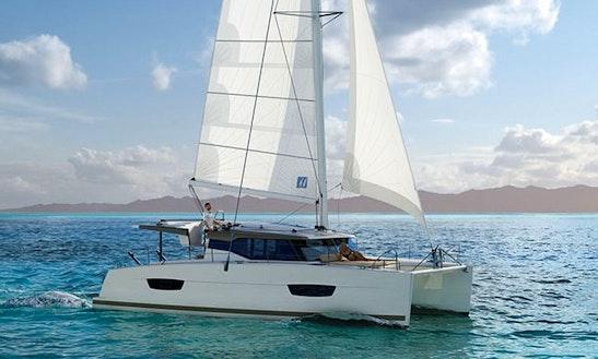 Fountaine Pajot Lucia 40' Cruising Catamaran Charters In Marigot, Saint Martin