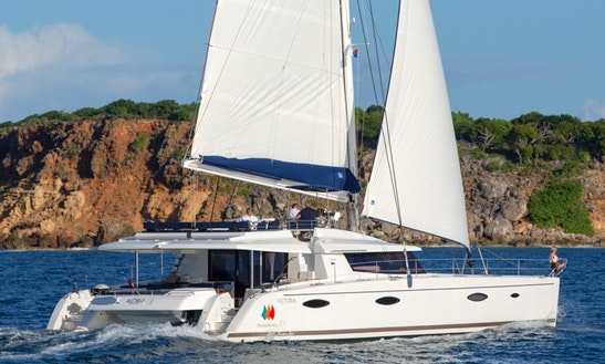 Fountaine Pajot Victoria 67' Cruising Catamaran Charters In Marigot, Saint Martin