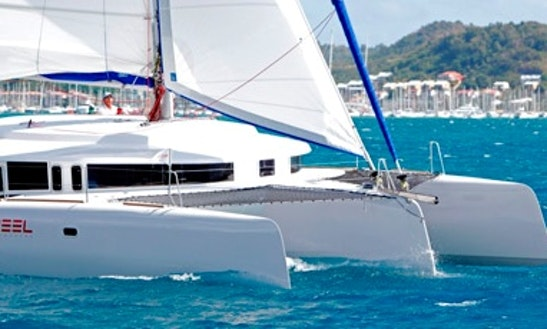 Neel 45 Trimaran Charters In Guadeloupe And Martinique