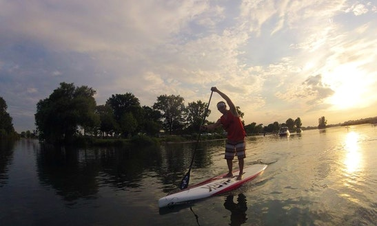 Paddleboard Rental & Lessons In Saint Clair Shores, Michigan