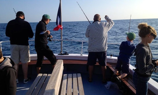 Trawler Fishing Charters In Hendaye, France