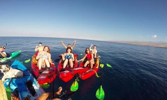 Kayak And Snorkel Adventure To Pauko Bay In Waimea, Hawaii