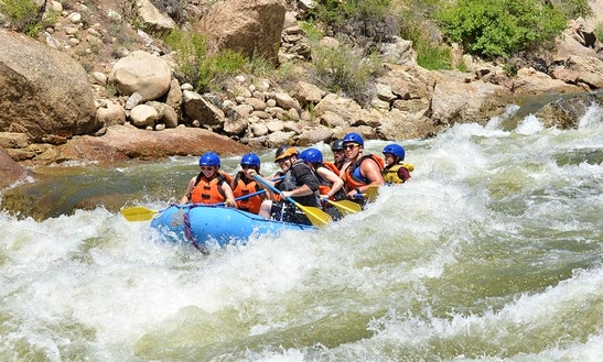 Rafting Trips All Ages On The Arkansas River In Colorado