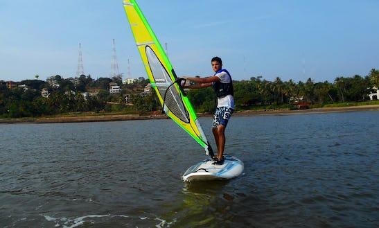 Windsurfing In Bambolim Beach, India