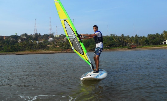 Windsurfing In Bambolim Beach