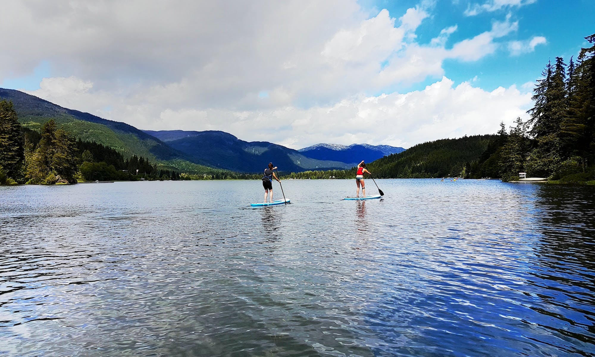 Stand Up Paddleboard Rental and Tour in Whistler, Canada