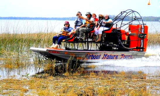 Dinner Cruise Tour On Airboat In Lake Wales, Florida