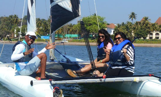 Beach Catamaran Rental In Bambolim, Goa