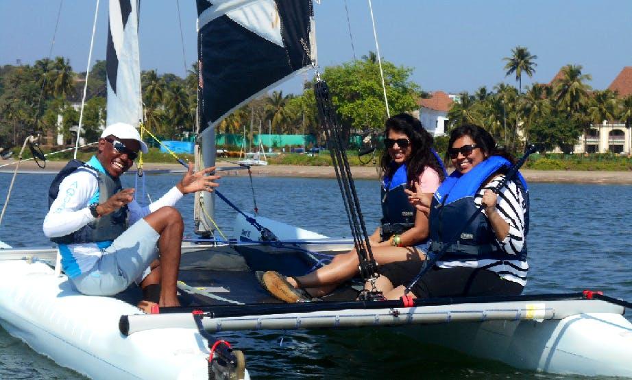 Beach Catamaran Rental in Bambolim, Goa