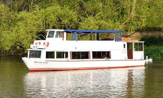Walton Lady Passenger Boat Hire In Shepperton