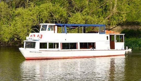 Walton Lady Passenger Boat Hire In Shepperton