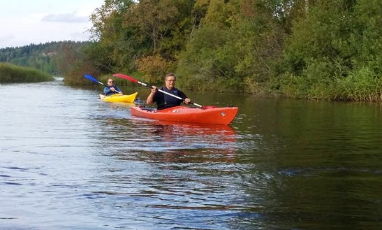 Single Kayak Rental And Lessons In Sjundeå, Finland